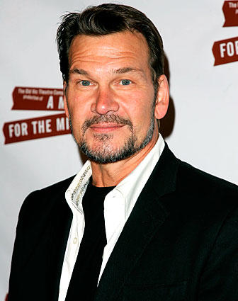 "Patrick Swayze arrives at the after party for the opening night of ""A Moon For The Misbegotten"" in April 2007 in New York City."