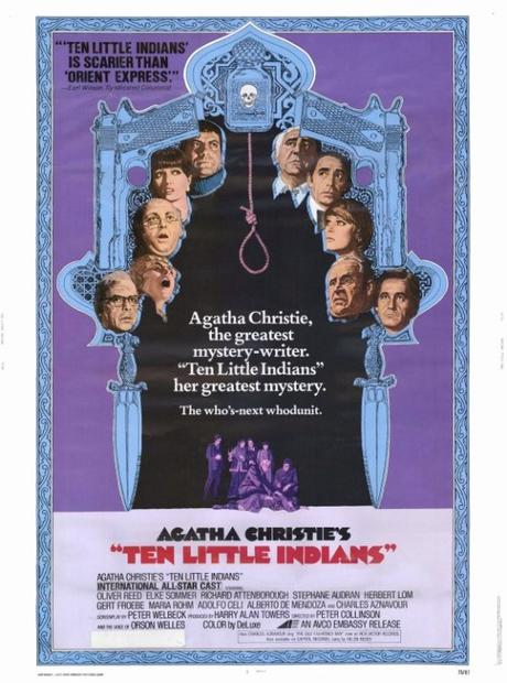 "Agatha Christie's mystery ""Ten Little Indians"" pits innocent people against each other after they are lured to one spot only to be picked off one-by-one."