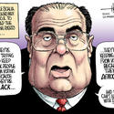 Scalia's slam of the Voting Rights Act is a bar-stool rant