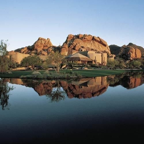 "Set amid breathtaking rock formations just north of Scottsdale, this is where Fred Flintstone would stay if he won the lottery. 34631 N. Tom Darlington Drive, Carefree; (888) 579-2631, <a href=""http://www.theboulders.com"">http://www.theboulders.com</a>."