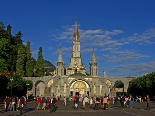 Six million people visit Lourdes every year, including 100,000 volunteers and 80,000 ill and disabled pilgrims seeking cures for their afflictions or the strength to endure them. Since 1858, about 6,800 people have reported being cured at St. Bernadette's grotto, though the Roman Catholic Church has proclaimed only 67 of these to be miracles and hasn't recorded the number of spiritual healings said to have occurred at Lourdes.<br>