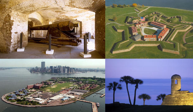 We've compiled a list of the nation's historical hot spots -- the most-visited monuments in 2009 -- from National Park Service data. As crowds flock to the nation's national parks, consider these often less-crowded alternatives. These trips keep you firmly grounded in the U.S. With rolling white sand dunes, coastal redwood forests, war-scarred memorials, and, let's not forget the iconic Statue of Liberty, travelers get a taste of our rich past.<br> <br> -- Deborah Netburn and Kelsey Ramos<br> <br> <hr>