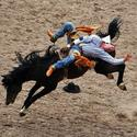 38. Cheyenne Frontier Days Rodeo in Cheyenne, Wyo.