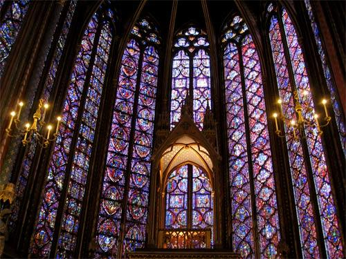 "<b>Sainte-Chapelle, Paris</b><br> <br> This small architectural jewel was the private church of the French royal family. The huge stained-glass windows surround you, creating rainbow-colored, three-dimensional shapes in the air. It's like standing inside a kaleidoscope, but much better. Most tourists skip this one, but it's a must-see.<br> <br> <b>Info:</b> <a href=""http://www.discoverfrance.net/France/Cathedrals/Paris/Sainte-Chapelle.shtml"">www.discoverfrance.net/France/Cathedrals/Paris/Sainte-Chapelle.shtml</a><br> <br> -- Ben Crumpacker, Costa Mesa"