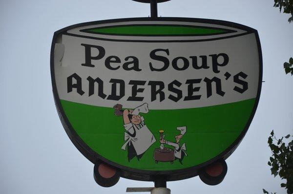 If you're traveling with kids, do what your dad and his dad probably did -- save a few bucks and bed the family at Pea Soup Andersen's Inn. Yes, it's next to the goofy old Andersen's restaurant.