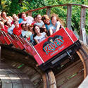 7. The Raven at Holiday World in Indiana