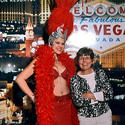 <b>7. Picture with a Vegas showgirl</b>