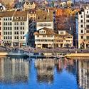 The Limmat River in Zurich