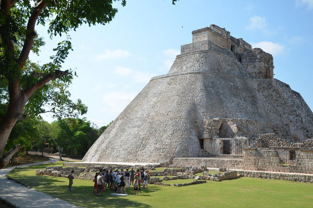 Uxmal Archeological Zone, Yucatan, Mexico.