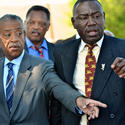Al Sharpton and Jesse Jackson team up