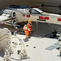 Star Wars Miniland at Legoland California