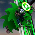 Green Lantern at Six Flags Magic Mountain