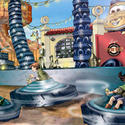 3) Luigi's Flying Tires - Disney California Adventure