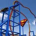 4) Superman: Ultimate Flight - Six Flags Discovery Kingdom
