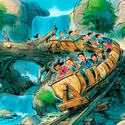 1) Magic Kingdom - Fantasyland