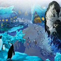 5) SeaWorld Orlando - Antarctica: Empire of the Penguin