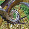 2) Silver Dollar City - Outlaw Run wooden coaster