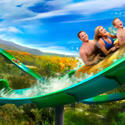 9) Dollywood - RiverRush water coaster