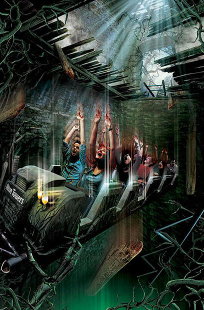 "Alton Towers has announced plans for a new ""world's first"" thrill coaster in 2013 dubbed Secret Weapon 7. The United Kingdom park has announced that one lucky contest winner will join the SW7 design team in dreaming up plans for the new coaster. The last Alton Towers secret weapon, the family-oriented Thirteen vertical drop coaster, debuted in 2010."