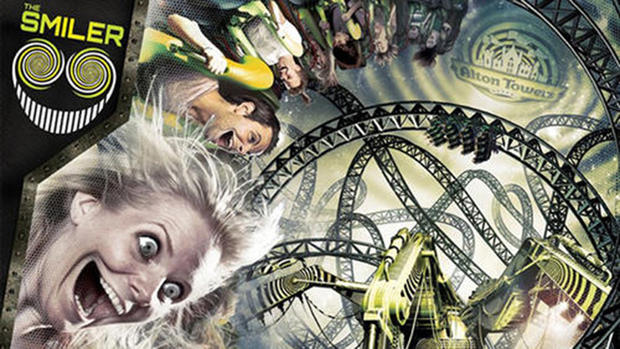 The Smiler coaster at Alton Towers will feature a record-setting 14 inversions.