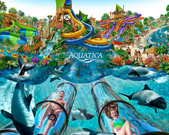 The $50 million Aquatica Florida, which debuted in 2008 with 36 slides on 60 acres, cost twice as much and is three times the size of Aquatica San Antonio.