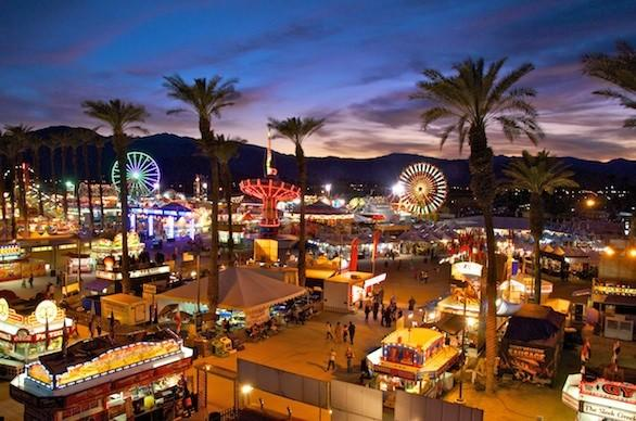"Don't be distracted by the elaborate ostrich and camel races. This festival in Indio for more than 60 years has honored the mighty date. You can sample date milkshakes, date gelatos and date dishes whipped up by local chefs, and then see who triumphs in a date recipe contest Feb. 16. Tickets cost $9 for adults and $7 for kids 6 to 12; carnival rides are extra. Info: <a href=""http://www.datefest.org/"" target=""_blank"">Riverside County Fair and Date Festival</a>, (760) 863-8247"