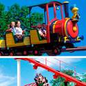 Woodstock Express (Cedar Point) vs. Road Runner Express (Six Flags Magic Mountain)