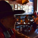 Arizona: Old bar, black hat