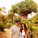 Evan Longoria and Jaime Edmondson