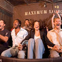 "The cast of ""Lost"" slip away to another dimension on the Twilight Zone Tower of Terror ride at Disney California Adventure."