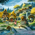Seven Dwarfs Mine Train coaster planned for the Fantasyland makeover.