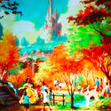 Belle's cottage planned for the Fantasyland makeover at the Magic Kingdom in 2012.