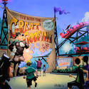 Great Goofini coaster planned for the Fantasyland makeover at the Magic Kingdom in 2012.
