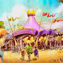 Princess Fairytale Hall planned for the Fantasyland makeover at the Magic Kingdom in 2012.