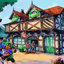 Bonjour Village Gifts shop planned for the Fantasyland makeover at the Magic Kingdom in 2012.