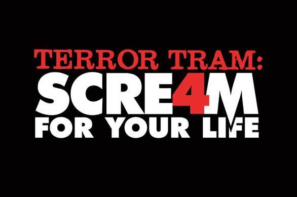 "After stepping off the Terror Tram in Universal's studio backlot, visitors will be chased by the Ghostface Killer through a ""Stab 8"" location shoot from the movie-within-a-movie ""Scream"" slasher film series."