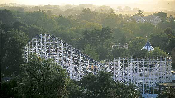 Hersheypark's mystery Attraction 2012 would be located near the 1946 Comet out and back wooden coaster built by Philadelphia Toboggan Co. in the Comet Hollow section of the park.