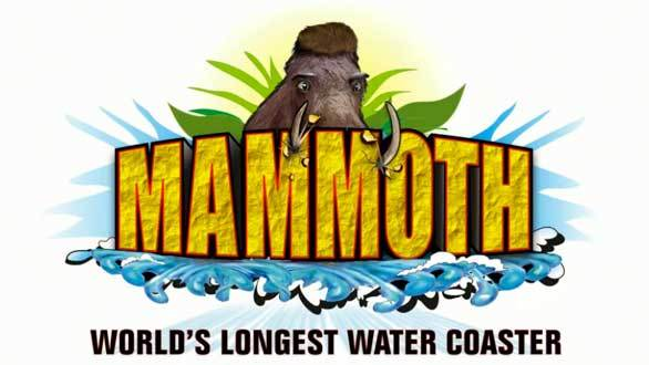 The world's longest water coaster, Mammoth, will unseat the previous title holder, Wildebeest, which Holiday World added in 2010.