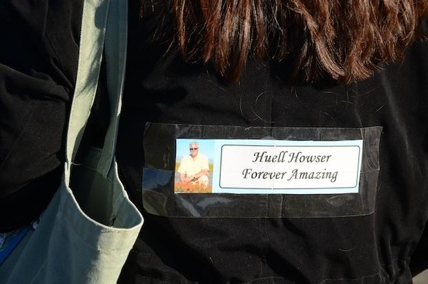 One mourner paid tribute to the TV personality by borrowing his signature line to honor him.