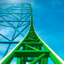 Kingda Ka, at Six Flags Great Adventure in Jackson, N.J., is the world's tallest coaster, peaking at 456 feet.