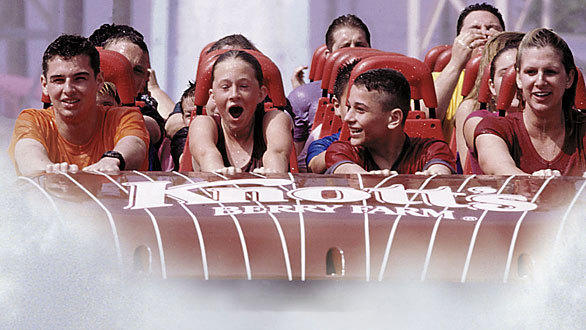 The trio of family rides planned for next summer at Knott's Berry Farm replace Perilous Plunge, which debuted in 2000 as the tallest and steepest water ride in the world.
