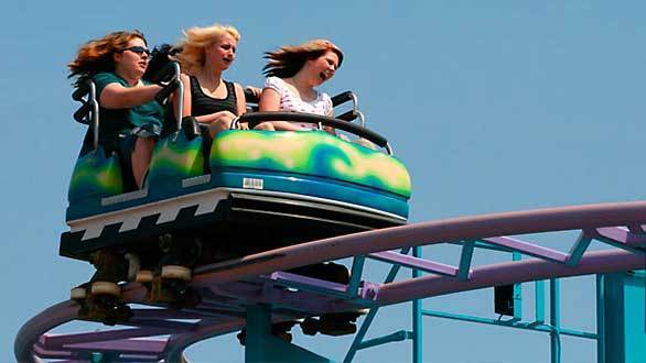 The Coast Rider wild mouse coaster coming to Knott's Berry Farm in 2013 is similar to off-the-shelf rides found at many smaller amusement parks.