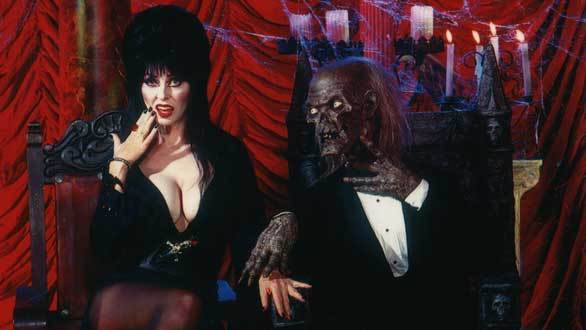 Local television horror hostess Elvira frequently headlined the annual Knott's Halloween Haunt show in the Ghoul Time Theatre in the 1980s and '90s.