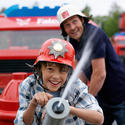 The Fun Town Fire Academy interactive firetruck race ride coming to Legoland Florida