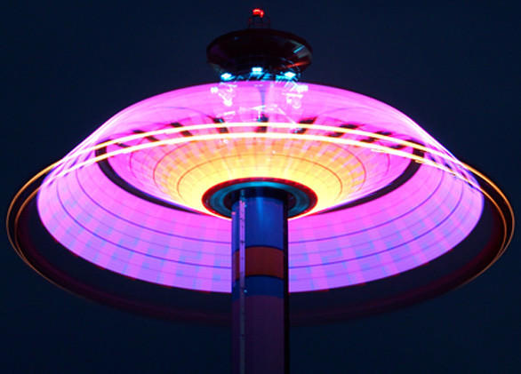 The addition of Luminosity will also bring new lighting packages to several rides at Cedar Point similar to the LED-lighting featured on the Windseeker swing tower.