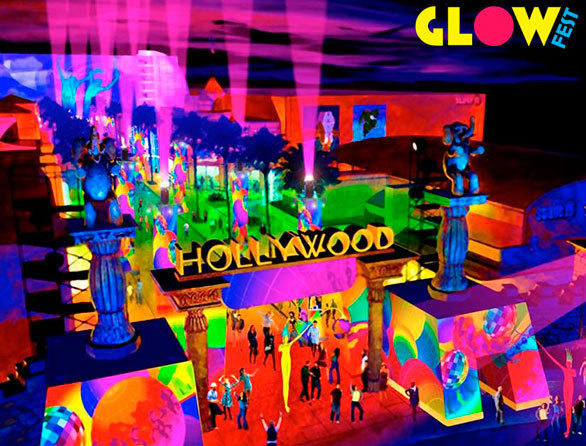Glow Fest was designed to give park visitors something to do back in the summer of 2010 while they waited for the water show.
