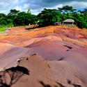 Colored earths