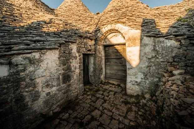 Much of the stone used to build Alberobello's trulli was collected from nearby fields.