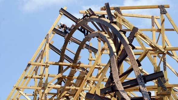 Rocky Mountain Construction will build the triple-inversion Outlaw Run wooden coaster at Missouri's Silver Dollar City.