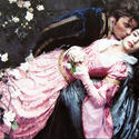 "Actors Vanessa Hudgens and Zac Efron as Aurora and Phillip from ""Sleeping Beauty."""